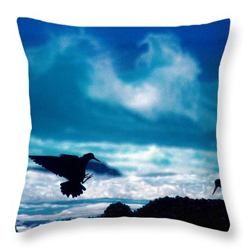 Wavedance Throw Pillow