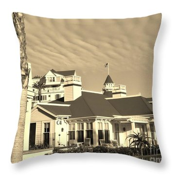Throw Pillow featuring the photograph Wavy Sky by Jasna Gopic