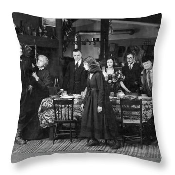 Way Down East, 1920 Throw Pillow by Granger