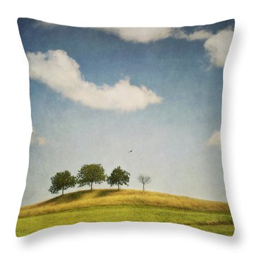 We Are 4 Throw Pillow by Priska Wettstein