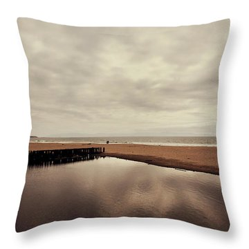 We Should Never Be Apart Throw Pillow by Laurie Search
