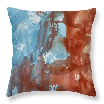 We Were There Throw Pillow by Beverley Harper Tinsley