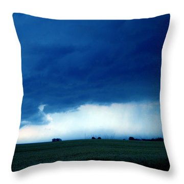 Throw Pillow featuring the photograph Weather Changes by Colette V Hera  Guggenheim