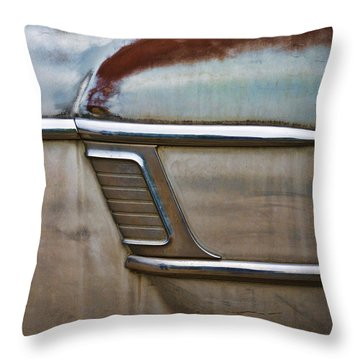 Weathered But Still Cool Throw Pillow