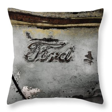 Weathered But Still Cool Two Throw Pillow