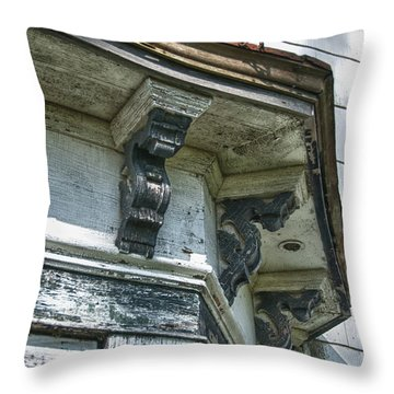 Weathered Throw Pillow by Guy Whiteley