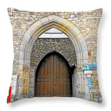 Weimar - Unesco World Heritage Site Throw Pillow by Christine Till