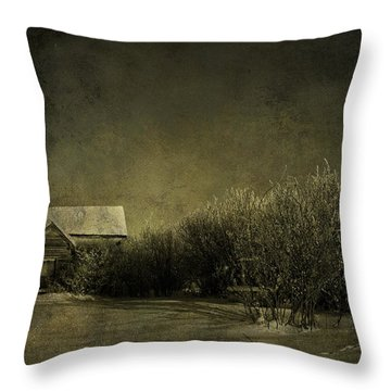 Well Come In Throw Pillow by Empty Wall