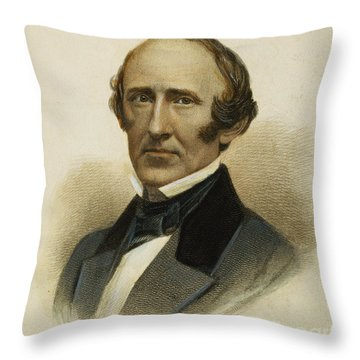 Wendell Phillips (1811-1884) Throw Pillow by Granger