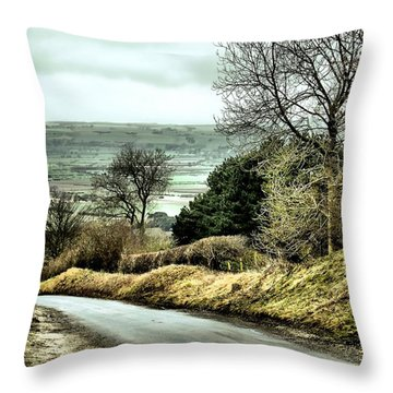 West Heslerton Throw Pillow