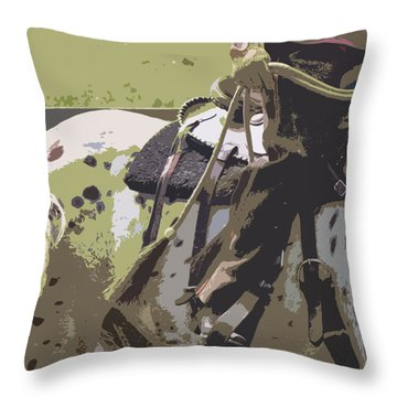 Western Ways Throw Pillow