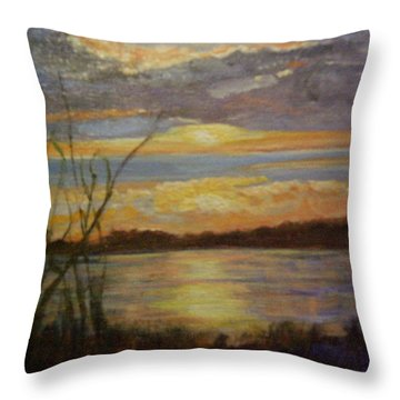 Wetland Throw Pillow