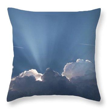 What A Light Show Throw Pillow