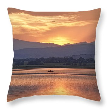 What A View Throw Pillow by James BO  Insogna
