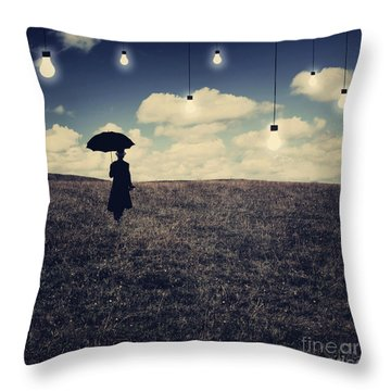 What You Don't Want To See Throw Pillow by Aimelle