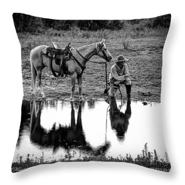 What's That Noise Throw Pillow