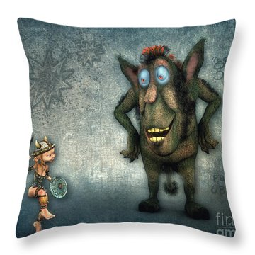 What's Up? Throw Pillow by Jutta Maria Pusl