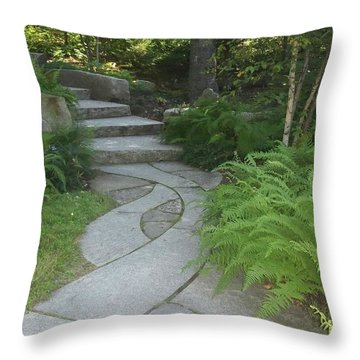 When Paths Intertwine Throw Pillow