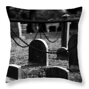 When The Saints Go Marching Throw Pillow by Rebecca Sherman