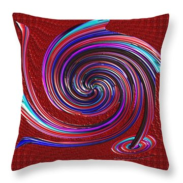 Throw Pillow featuring the digital art When The Stirring Stops by Alec Drake
