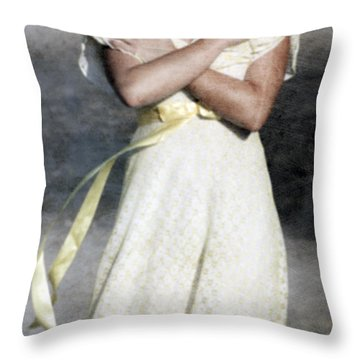 When The Wind Blows Throw Pillow by Joana Kruse