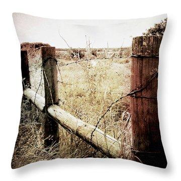 When Time Fades Throw Pillow