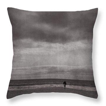 When You're All Alone In This Life Throw Pillow by Laurie Search