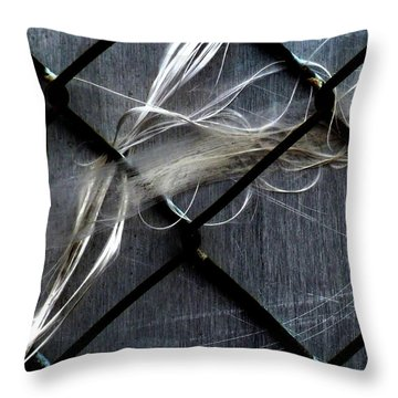 Throw Pillow featuring the photograph Whispered by Newel Hunter