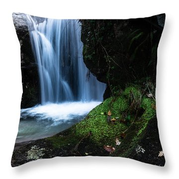 White Dream Throw Pillow
