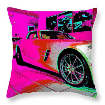 Who Is Who Throw Pillow by Rogerio Mariani