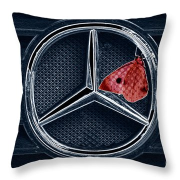 Who Was Faster Throw Pillow by Heiko Koehrer-Wagner