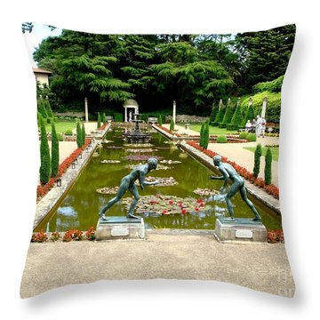 Throw Pillow featuring the photograph Who Win by Katy Mei