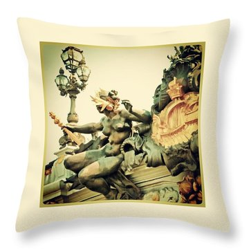 Why Look Away Throw Pillow