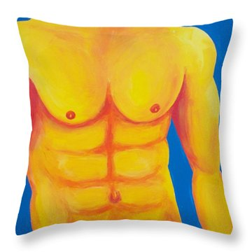 Wild Blue Yonder Throw Pillow by Randall Weidner