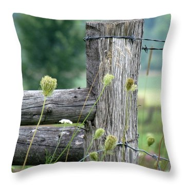 Wild Country Style Throw Pillow by France Laliberte