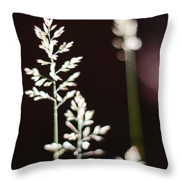 Wild Grass Throw Pillow