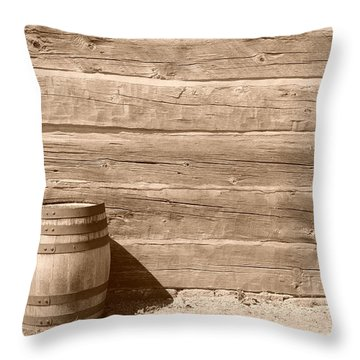 Throw Pillow featuring the photograph Wild West by Joe  Ng