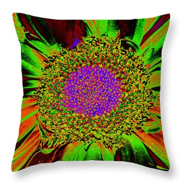 Wildflower Tutu Throw Pillow