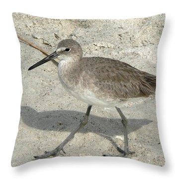Willet Throw Pillow
