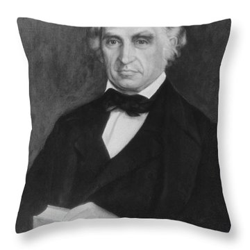 William Beaumont, American Surgeon Throw Pillow by Science Source