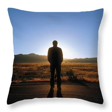 William Flocken Throw Pillow