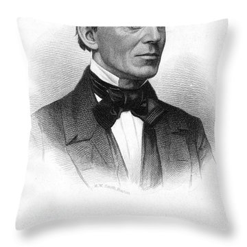 William Lloyd Garrison Throw Pillow by Granger