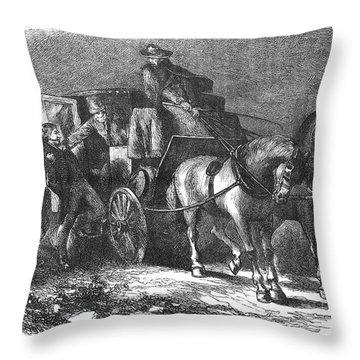 William Morgan (1774-1826) Throw Pillow by Granger