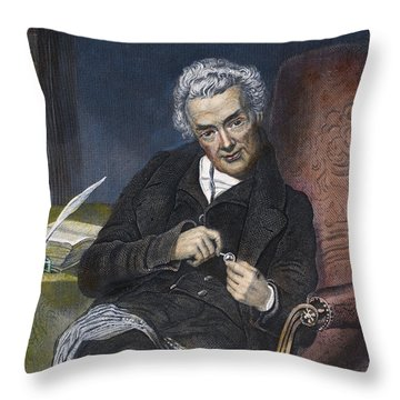 William Wilberforce Throw Pillow by Granger