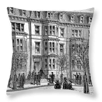 William Worth Belknap Throw Pillow by Granger