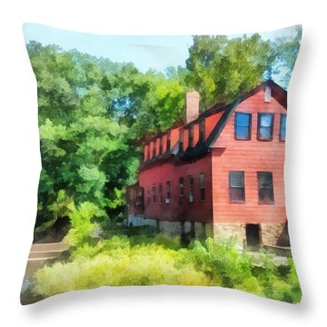 Williams-droescher  Mill Throw Pillow by Susan Savad