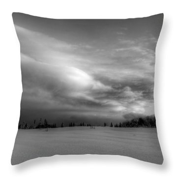 Throw Pillow featuring the photograph Windblown Cloud by Michele Cornelius