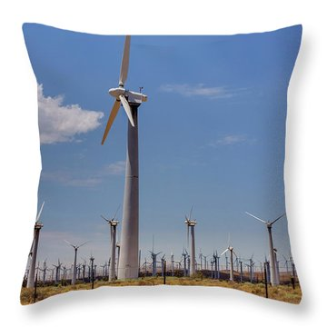 Windblown II Throw Pillow