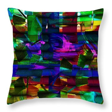 Windblown Throw Pillow by Mimulux patricia no No