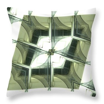 Window Mathematical 2 Throw Pillow